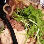 京まる - 牛すき焼き。