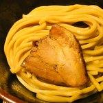 煮干し中華そば一燈 - 濃厚煮干しつけ麺(太麺)