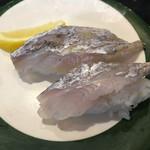 長次郎   - 太刀魚にぎり
