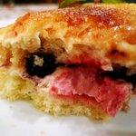 カンテ グランデ - ベリーカスタードを食べる