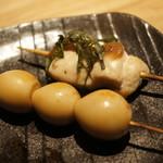 博多焼き ヤマト - うずら卵と梅しそササミ