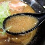 麺屋 侍 - 粘度の高い濃厚魚介スープ!