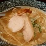 濃厚鶏白湯らーめん 鶏まさ - 超濃厚白湯ラーメン