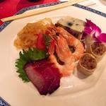 ホテルオークラ レストラン横浜 中国料理 桃源 - 五種前菜の盛り合わせ