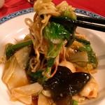 ホテルオークラ レストラン横浜 中国料理 桃源 - あんかけ焼きそば