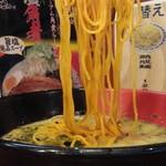 ラーメン 西海 - 高菜500円赤麺アップ