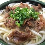 松原うどん - 料理写真:肉うどん(大)