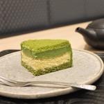 78855700 - 抹茶のチーズケーキ