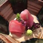 プラチナフィッシュ KAPPO  - 「刺身」本日の港より 二種盛り