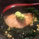 プラチナフィッシュ KAPPO  - 「食事」 秋鮭のお茶漬け