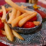 まんぷく食堂 - 赤ウィンナとポテト