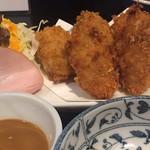 わか菜 - 倉橋島産牡蠣フライ
