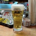 立呑み きむらや - 生ビール