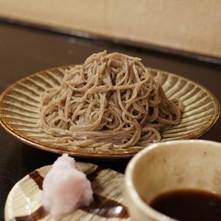 土家 - 料理写真:そば(追加大盛)