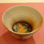 鮨 そえ島 - ◆なまこ(大村湾)・・食感・酢加減ともによく、良い味わい。
