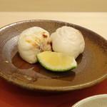 鮨 そえ島 - ◆白子様・・クリーミーで美味しい。シアワセ。^^