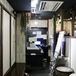 炭焼きイタリアン酒場 炭リッチ - 入り口