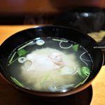 乙女寿司 - 鯛の味噌汁