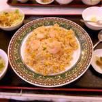 上海台所 - 海老チャーハン。¥750。