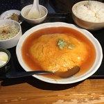 えん弥 - 料理写真:蟹玉定食