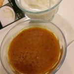 みんなのレストラン スパイシービリヤニ&ケバブハウス - ライタ、カレースープ