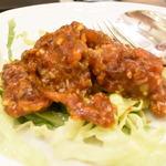 翠蓮 - 脱皮蟹のチリソース炒め :ソフトシェルクラブなので殻ごと食べられるカニチリ!ここに来ると必ず頼みます。めちゃくちゃうまい!