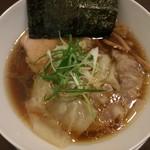 Tsurumen - 地鶏わんたん麺 2017/12/16