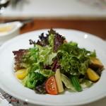 南蛮 銀圓亭 - 季節のサラダ