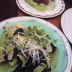 Tokachi - ワカメサラダと卯の花コロッケ