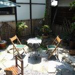 じゃらじゃらcafe  - 素敵な中庭☆