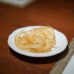 南蛮 銀圓亭 - 最初に出てくるこれが美味い!