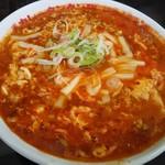 元祖カレータンタン麺 征虎 - トマトカレータンタン麺950円