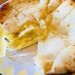 ニュー バンチャ - ジューシーなチーズがたっぷり