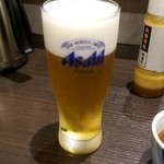 とんかつ浜勝 - 生ビール:561円