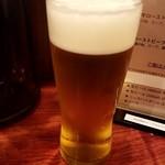 ローストビーフ大野 - 生ビール:500円