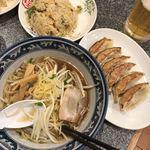 西安餃子房 - ラーメンセット(990円)
