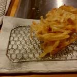 揚げたて天ぷら定食 まきの 難波千日前店 - サクサクのかきあげ!