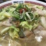 茨城タンメン カミナリ - キャベツと豚肉たっぷり