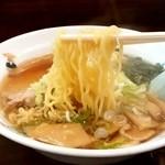 天龍 - 天龍 銀座街店@川崎 ワンタンメンの麺