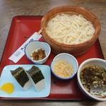 かねぎん坂野 - うどん定食(からあげ撮影忘れ) 1200円