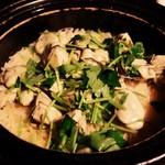 割烹 まつ喜 - 牡蠣の炊きこみご飯