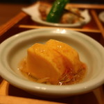 豆まる - 出汁巻玉子 蟹のあんかけ