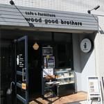 wood good brothers - すっきりとモダンなカフェ1