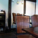 月のとき - 2階テーブル席