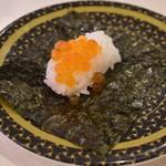 はま寿司 - いくらつつみ(100円+税)2017年12月