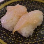 はま寿司 - つぶ貝(100円+税)2017年12月