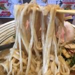 どろそば将 - 平打ちストレート麺