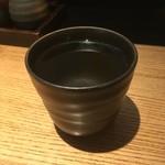 地鶏の鶏膳 - 黒島美人350円お湯割