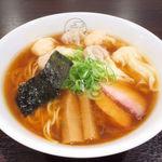 78883820 - 特製ワンタン麺(黒だし)1,000円