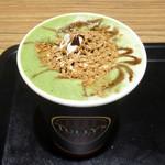 タリーズコーヒー - クラッシュキャラメル抹茶ラテ